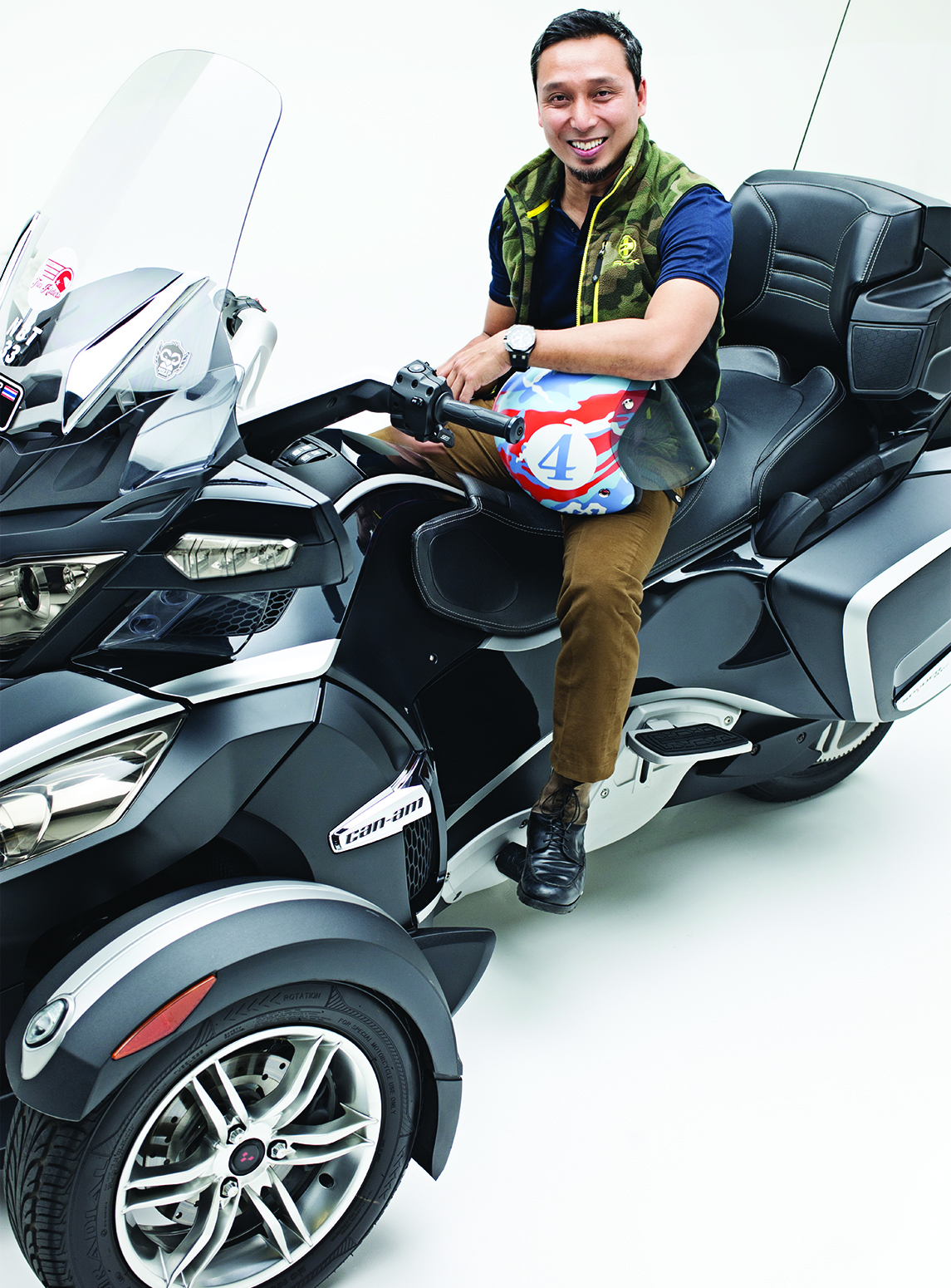 Dato' Hafidz - Can Am Spyder